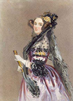 Countace Ada Lovelace - The First Computer Programmer