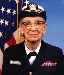 Grace Hopper - A Dedicated American Woman - A Computer Pioneer