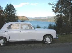 1959 Mercedes-Benz 220S Ponton Classic Profile