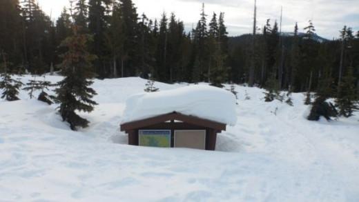Mount Washington Snowfall