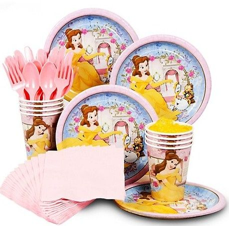 A complete party pack for your princess celebration.