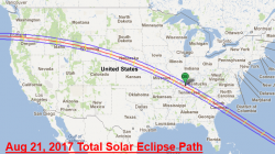 Click on the photo to see the path of the August 2017 total solar eclipse