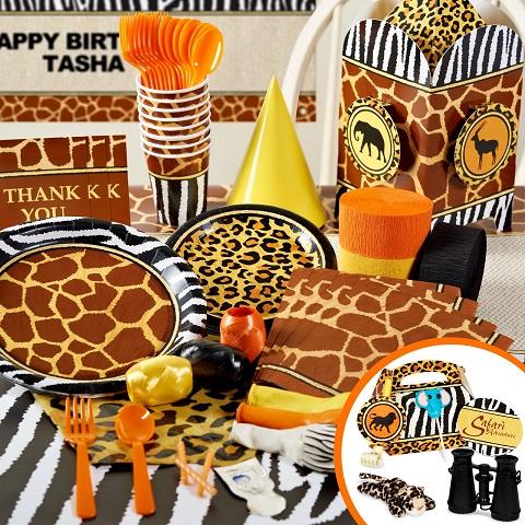Safari Theme Party Pack