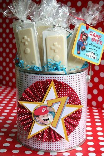Chocolate Lollipop Party Favors