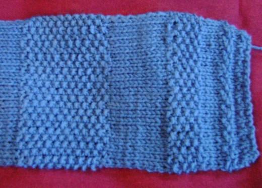 Fibonacci Stripes Scarf from Knitted Scarves for the Adventurous Knitter (FiberFrau Book 2)