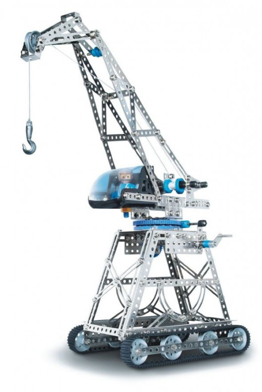 Eitech Building Site Cranes Metal Building Kit