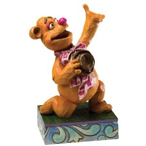 Disney Traditions designed by Jim Shore for Enesco Fozzie Bear