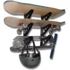 Wall Mount Skateboard Racks