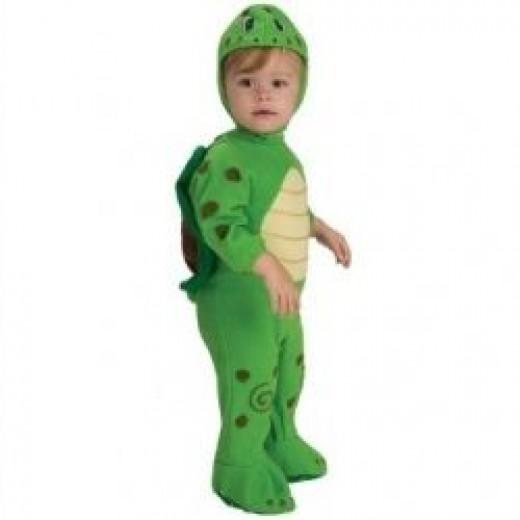 EZ-On Romper Costume, Turtle