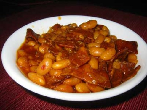 Gram's Baked Beans look something like this