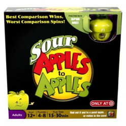 Competitive Family Fun: Sour Apples to Apples