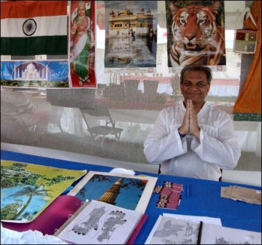 India. Namaste!