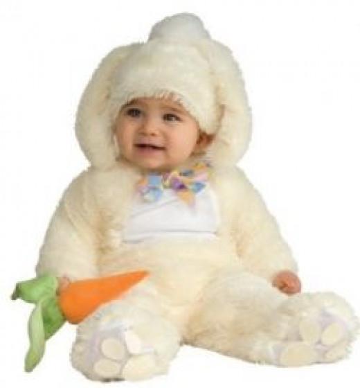 Rubie's Costume Co Baby Bunting Vanilla Bunny Costume
