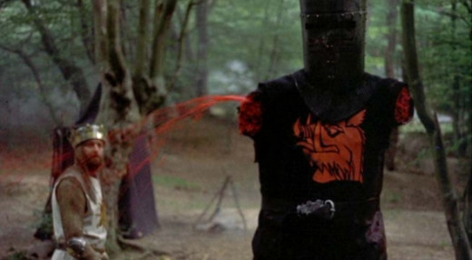 Black Knight minus two arms