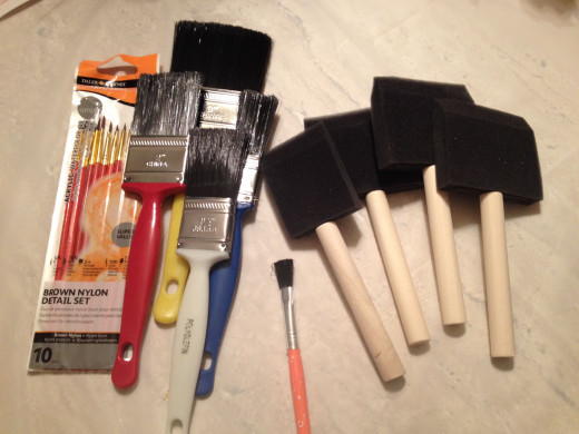 Brushes To Apply Mod Podge
