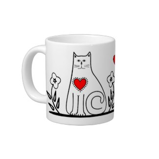 Country Cat Coffee Mugs