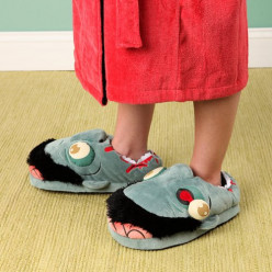 Zombie Plush Slippers for Adults