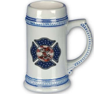 Firefighter Beer Steins perfect for off duty responsible time off