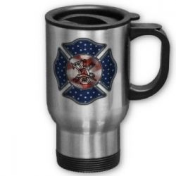 Personalized Firefighter Mugs