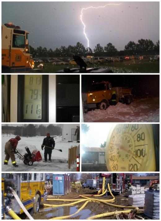 Firefighter Weather
