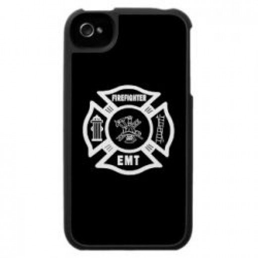 Firefighter iPhone and Tablet Cases
