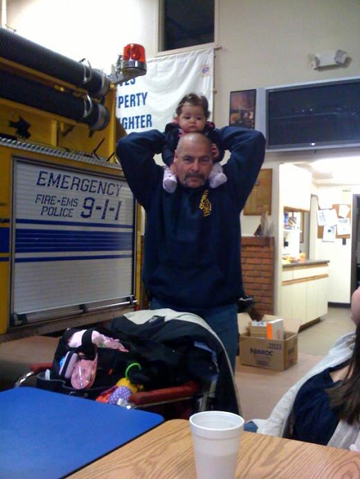 Fire Chief Grandpa