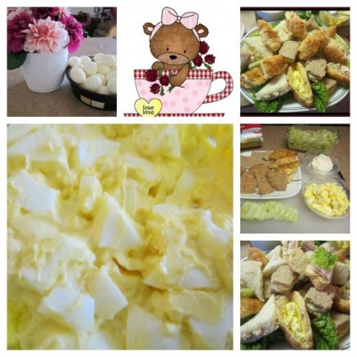 Egg Salad and Hard Boiled Eggs