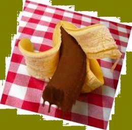 Mmmmm....Chocolate Covered Bananas!