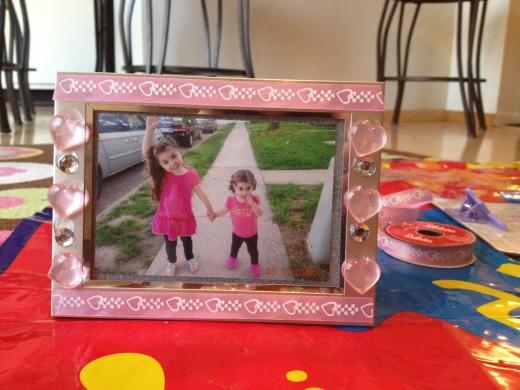 DIY Photo Frame Love