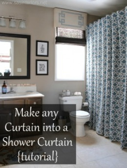 Customize Purchased Curtains