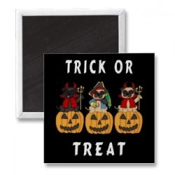 Halloween Magnets and Buttons