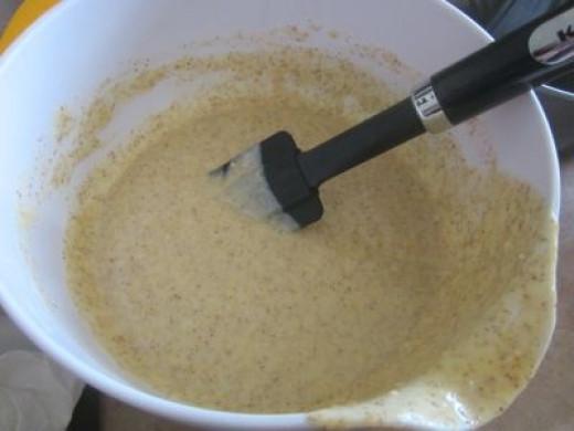 Banana Bread Cake Batter