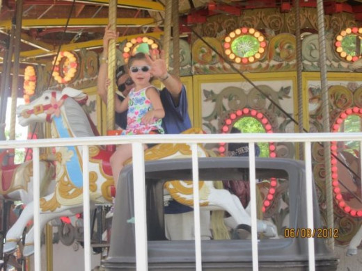 Go on the carousel and enjoy the rides, excitement and adventure of the New Jersey Boardwalks.
