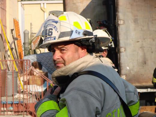 Thanks To Fire Chief Barry Rashkin