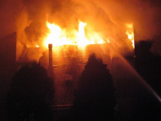 Garden Apartment fire contained to six units with heavy fire showing from three units on our arrival. Started by a small christmas tree