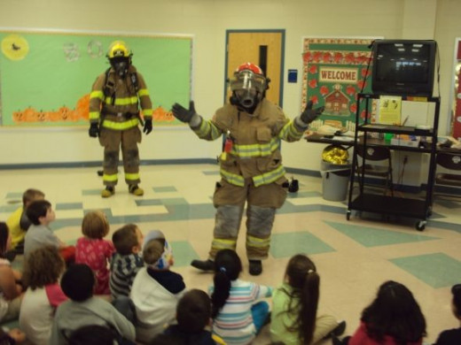 Firefighters Demonstrate How We Will Look and Sound