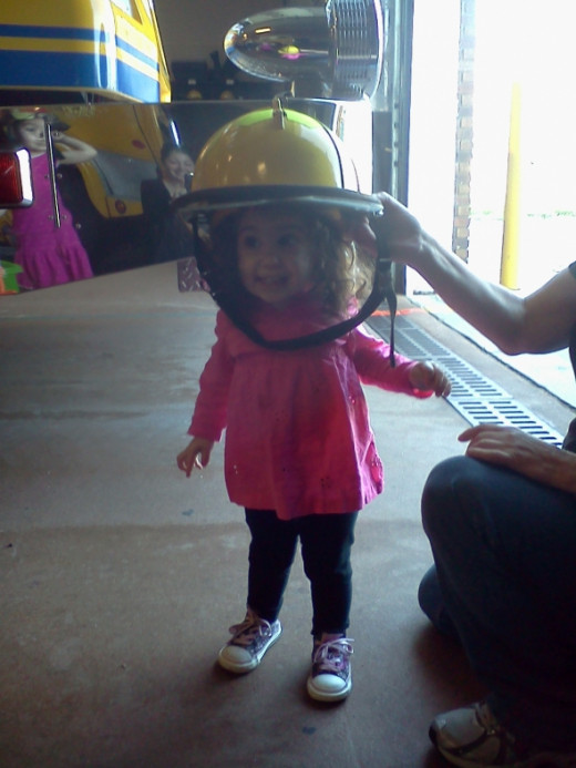 Fire Safety can be fun and our youngest firefighters are out there to prove it with us.