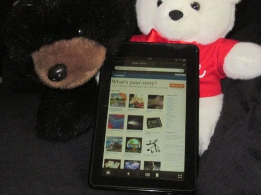 Can't Bear to Be Without My Kindle