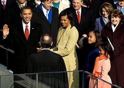 Inauguration Day January 20, 2009