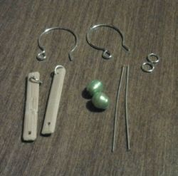 Bamboo Link Earrings Supplies
