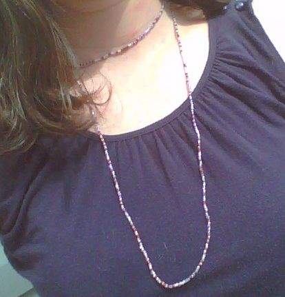 2 loops: 2-Tiered Necklace