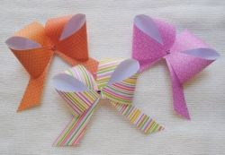 Homemade Paper Bow