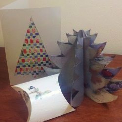 Creative Ways to Recycle Holiday Greeting Cards