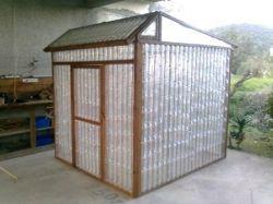 Plastic Bottle Greenhouse #2