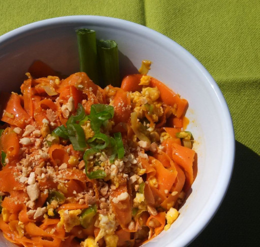 Carrot Ribbon Pad Thai