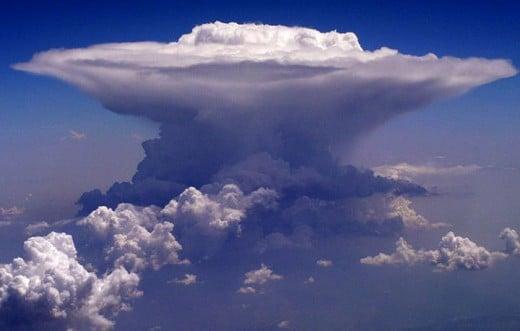 Amazing Cumulonimbus Cloud