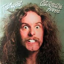 Ted Nugent - Cat Scratch Fever - Mounted Mini Poster by 0FTB0