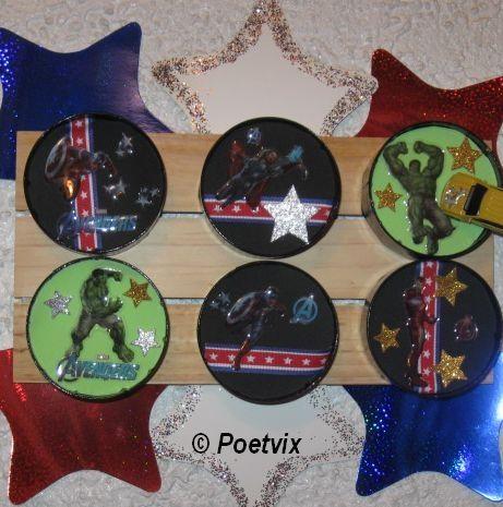 Avengers interchangeable display board craft