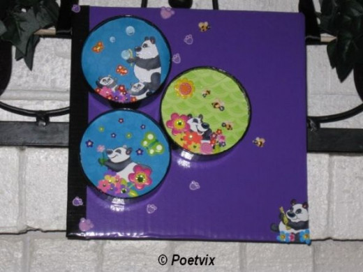 Panda play display
