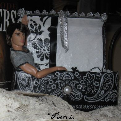 Prince Vlad of Tiny Town in his coffin